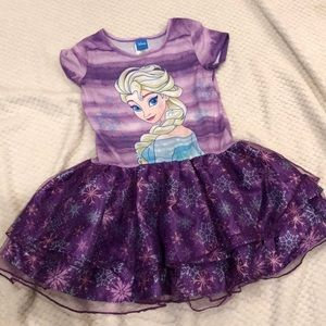 2/$20 Disney princess Elsa dress.